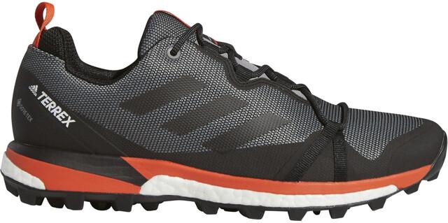 adidas TERREX Skychaser LT GTX Low Cut Schoenen Heren, grey three/core  black/active orange